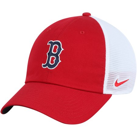 690d30fe81708 Boston Red Sox Nike Heritage 86 Team Trucker Adjustable Hat - Red White -  OSFA - Walmart.com