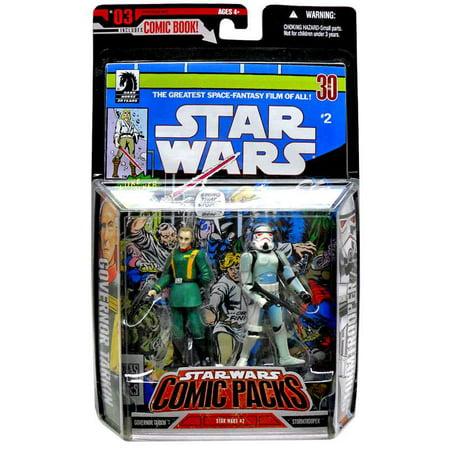 Star Wars Comic Packs 2006 Grand Moff Tarkin & Stormtrooper Action Figure 2-Pack](Stormtrooper Action Figure)