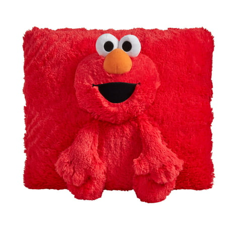 "Pillow Pets Sesame Street Elmo 16"" Stuffed Animal Plush Toy](Shrek Pillow Pet)"
