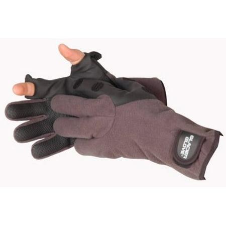 Hybrid Fleece Glove - Glacier Glove Hybrid Slit Finger Gloves