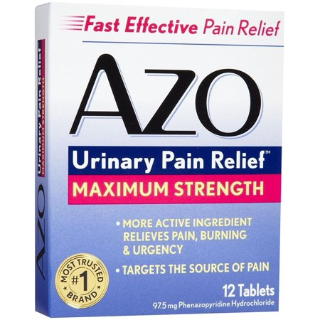 Azo Max Blistered Tablets, 12 tab