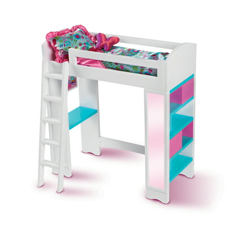 My life as 18 inch doll loft bed for Average lifespan of a mattress