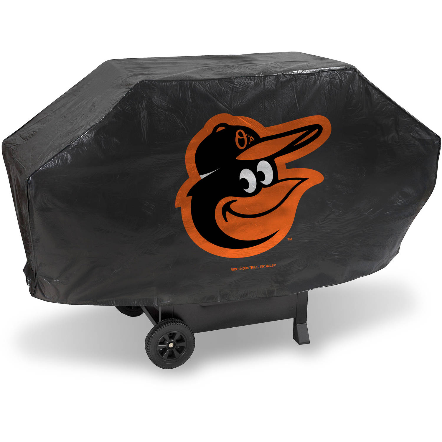 MLB Rico Industries Deluxe Grill Cover, Baltimore Orioles