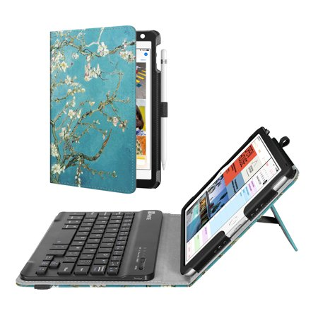 Fintie iPad mini 4 2015 / mini 5th 2019 Case - Folio Stand Cover with Removable Bluetooth Keyboard, (Best Ipad Keyboard 2019)