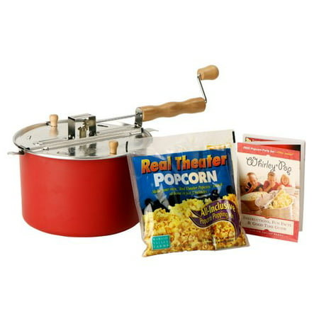 Whirley Pop Stovetop Popper (Wabash Valley Farms 4 Oz. Whirley Pop Stovetop Popcorn)