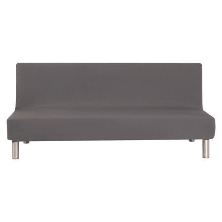 Tkoofn Folding Microfiber Futon Couch Sofa Cover Slipcover