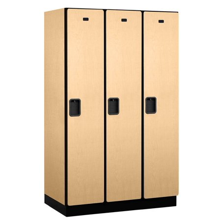 Extra wide designer locker in maple for Designer lockers