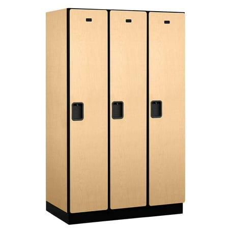 Extra wide designer locker in maple for Designer lockers