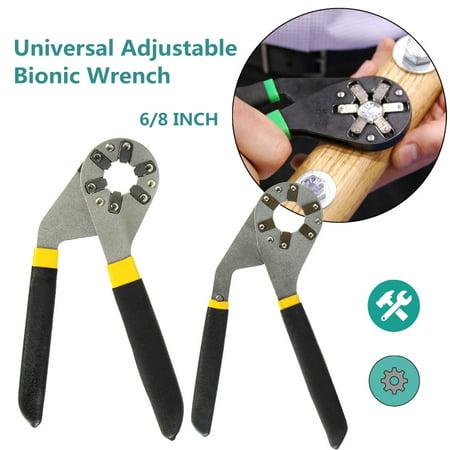 6/8 inch Adjustable Hexagon Universal Quick Magic Wrench Adjustable - Quick Adjustable Wrench