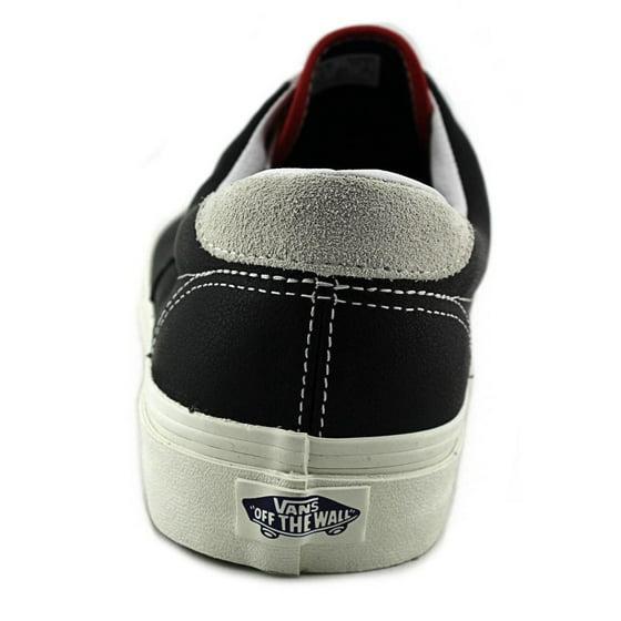 607dad48ba Vans - Vans Era 59 Men Round Toe Leather Black Skate Shoe - Walmart.com