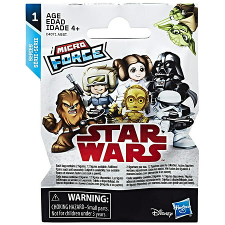 Star Wars Micro Force Blind Bags Series 4 - Angry Birds Blind Bags