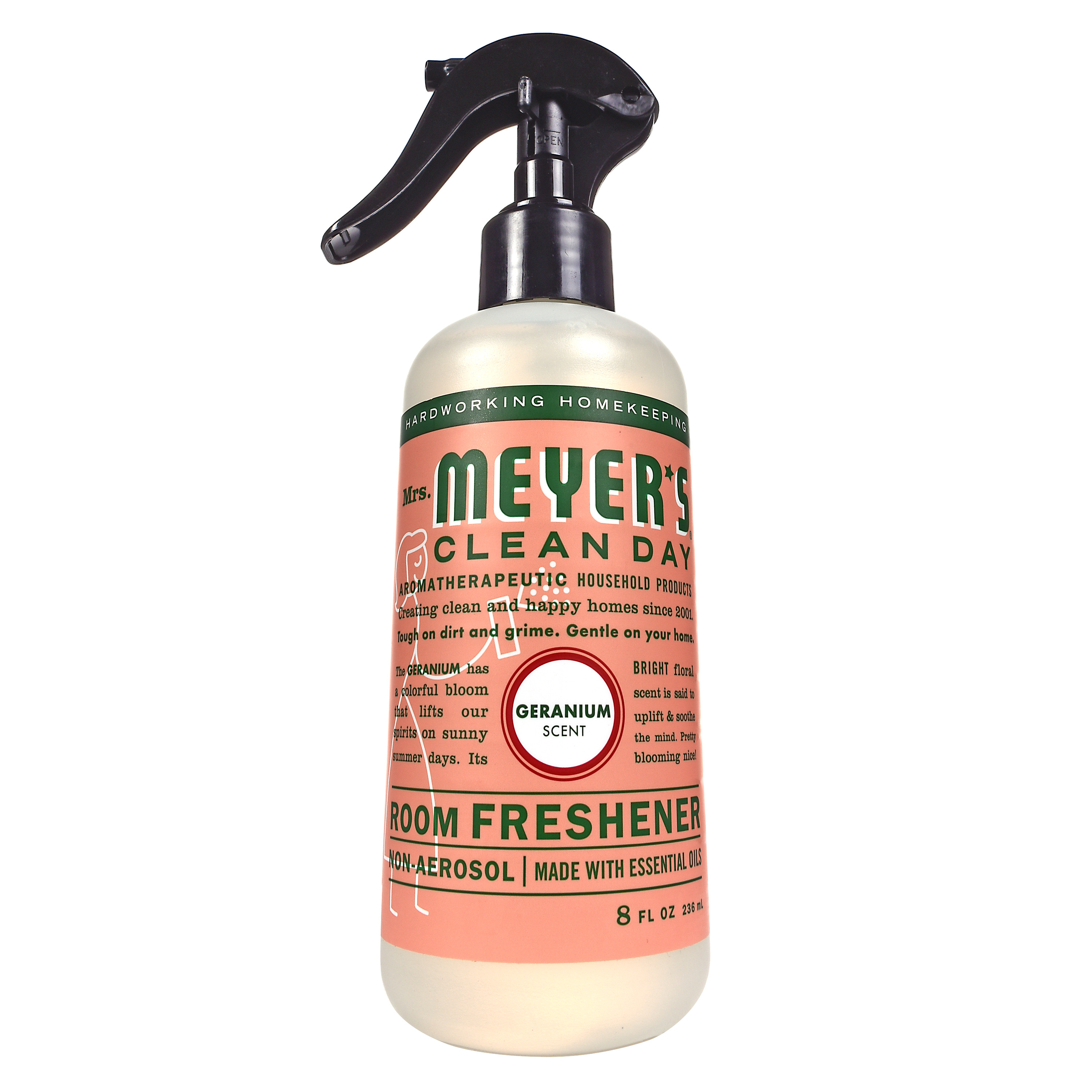 Mrs. Meyer's Clean Day Spray Air Freshener, Geranium, 8 Fl Oz