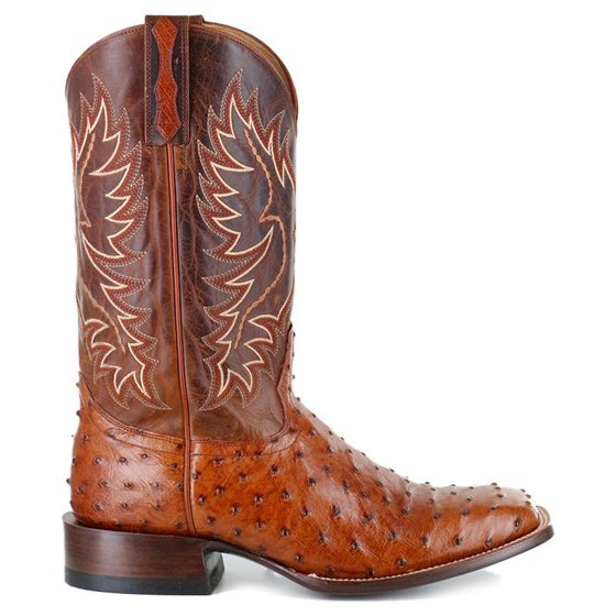 589a334ca20 Cody James - Cody James Men s Full Quill Ostrich Exotic Boot Square ...