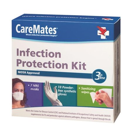 Infection Protection Kit - caremates 01712020 infection protection kit, case of 12