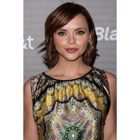 Christina Ricci At Arrivals For Blackberry Torch Launch Party The Museum Of Architecture And Design Los Angeles Ca August 11 2010 Photo By Adam OrchonEverett Collection Photo Print (Storefront For Art And Architecture Halloween Party)