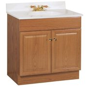 Rsi Home Products Sales 30W Oak Combo Vanity, 30""
