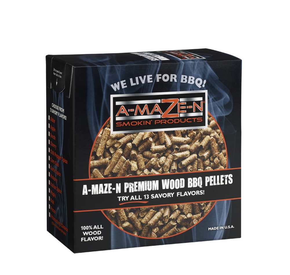 A-MAZE-N Products 2lb Hickory Standard Smoker Pellets - AMNP2STD0006