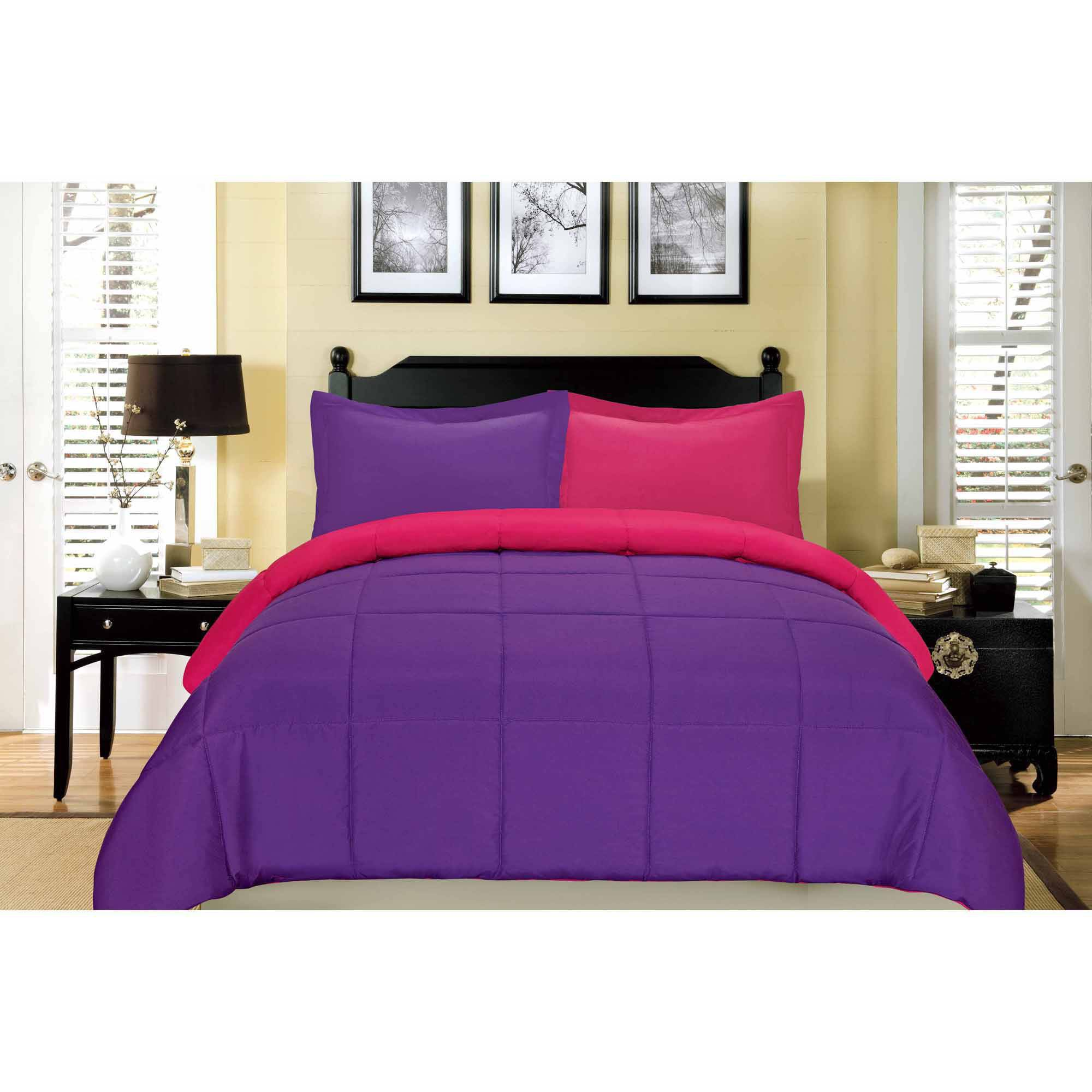 South Bay Reversible Down Alternative Comforter Mini Set