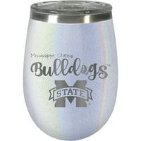Mississippi State Bulldogs 12oz. Opal Wine Tumbler - No Size