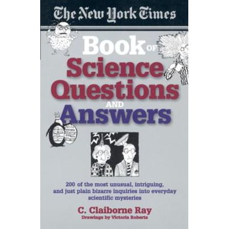 The New York Times Book of Science Questions & Answers - (Halloween Trivia Questions And Answers For Adults)