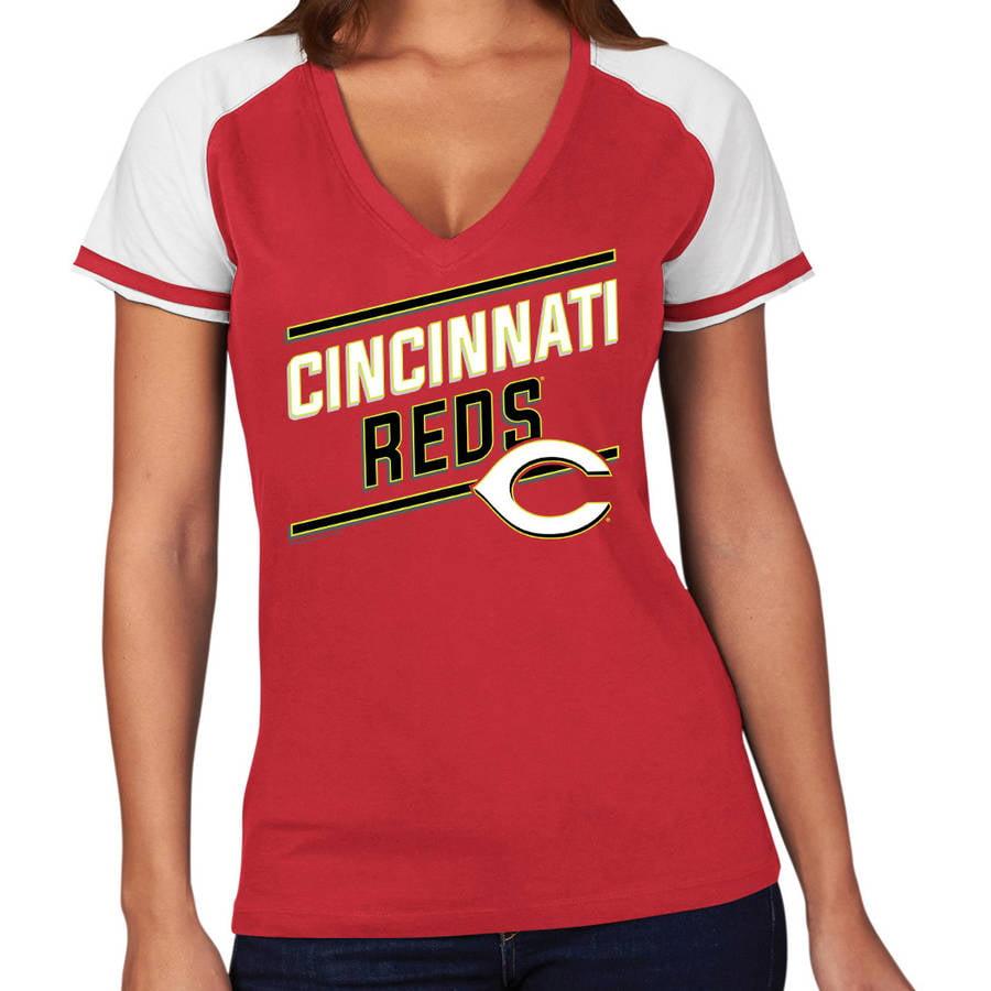MLB Cincinnati Reds Plus Size Women's Basic Tee