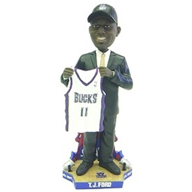 Milwaukee Bucks T. J.  Ford Draft Pick Forever Collectibles Bobble Head