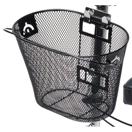Knee Walker Basket Accessory - Replacement Part with Quick Release and Convenient Handle - Compatible with Most Knee (Convenient Lifting Handles)