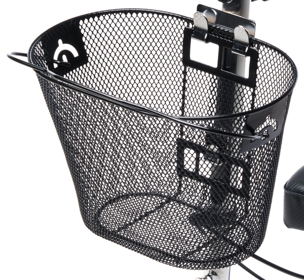 Knee Walker Basket Accessory - Replacement Part with Quick Release and Convenient Handle - Compatible with Most Knee Scooters