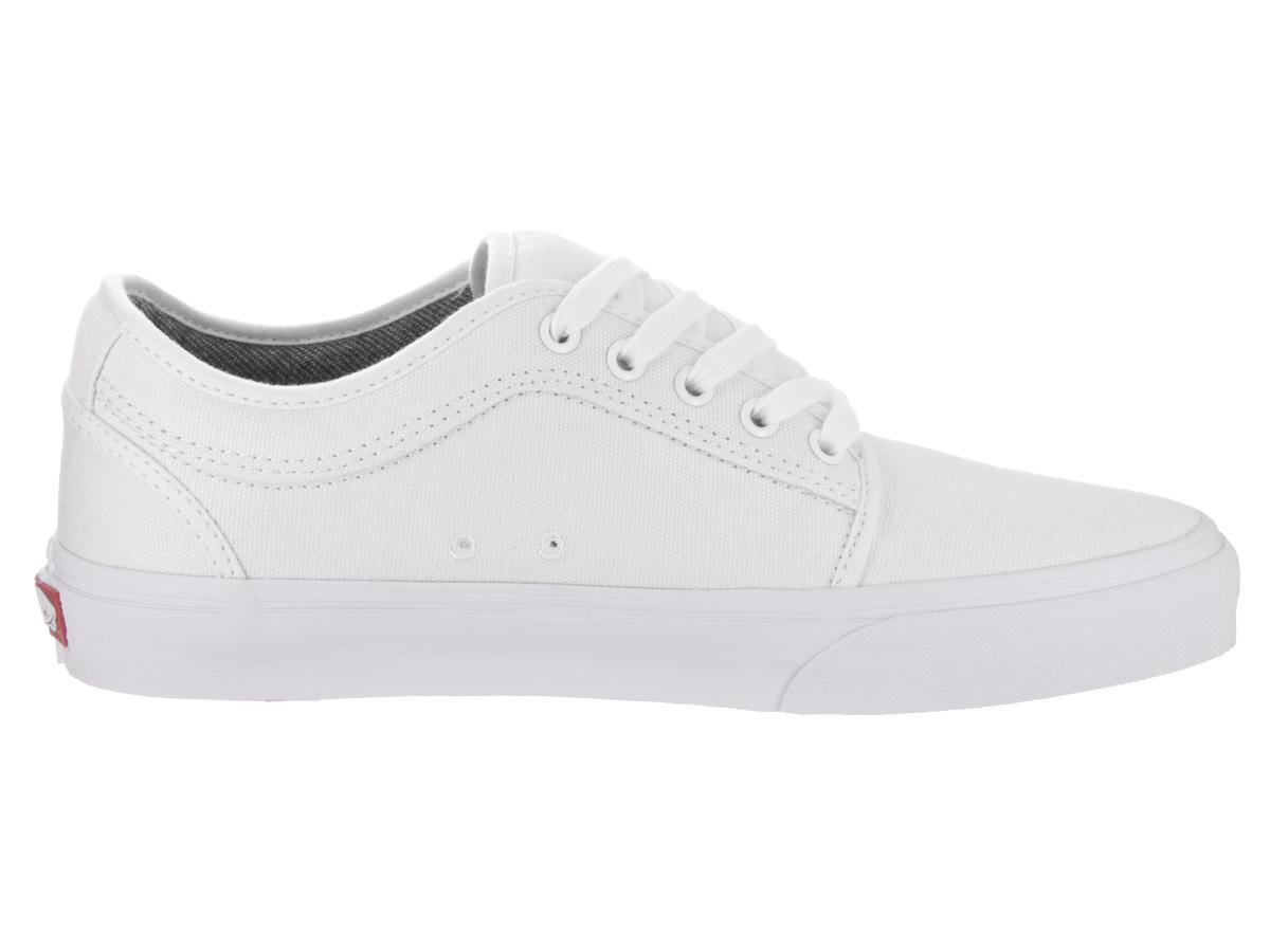 Oz. Canvas) White/White Skate Shoe