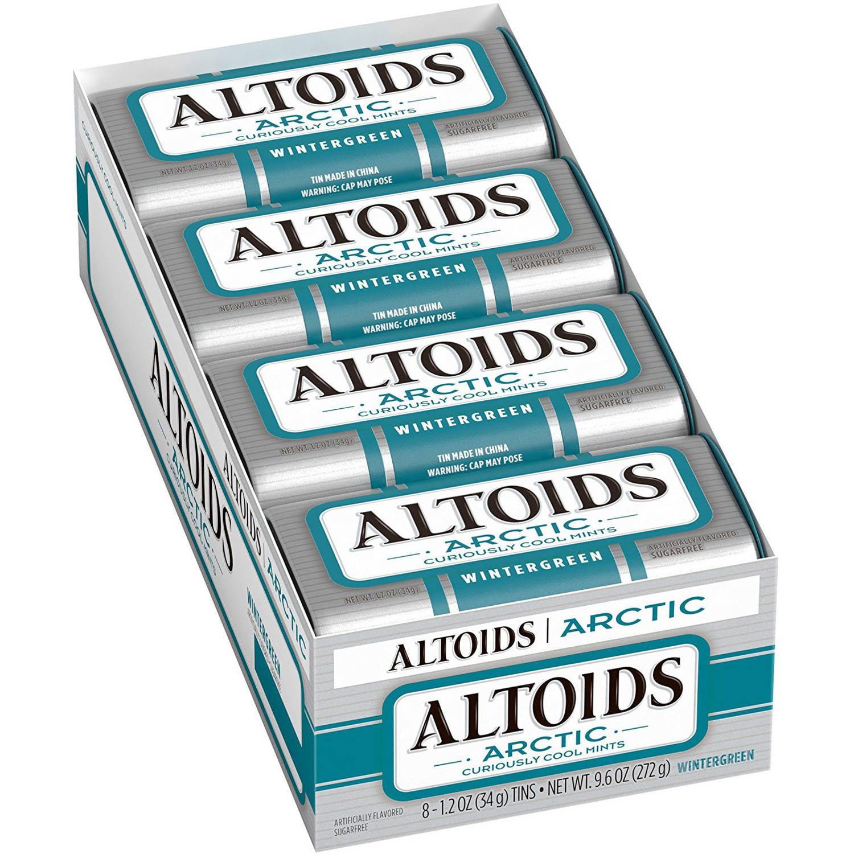 Altoids Arctic Mints, 1.2 oz Tin (Pack of 8), Multiple Flavors Available by Altoids