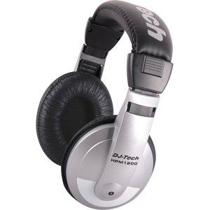 Multi-Purpose Headphones w/Ultra-wide frequency response w/1/8-in TRS Stereo Jack plus 1/4 adapter