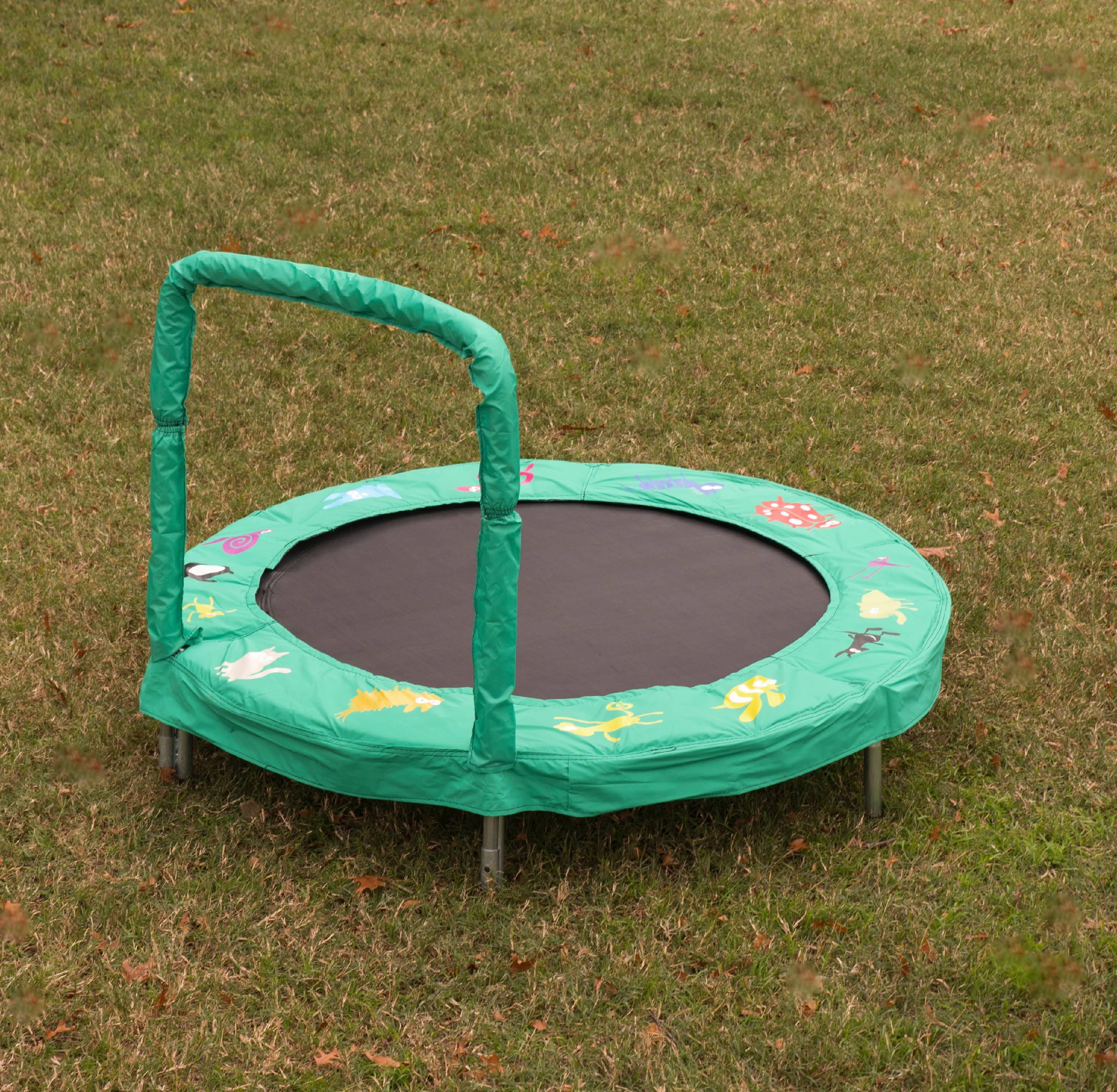 Jump King Jumpking Trampoline 4' Animal Characters Bouncer for Kids