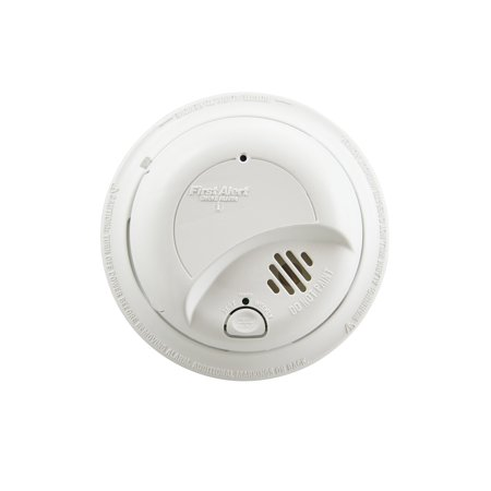First Alert SA9120BPCN Hardwired 120-Volt AC Smoke Detector with Adapter Plugs