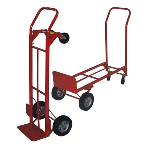 Milwaukee Convertible Hand Truck with Wheel Guard