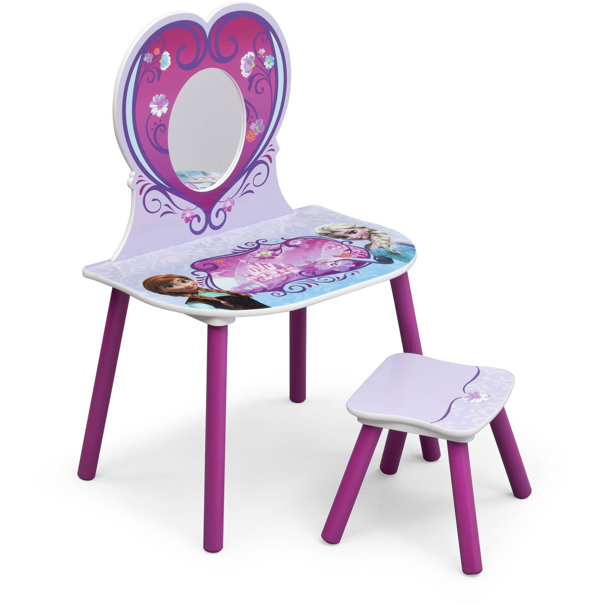 Disney Frozen Vanity with Stool
