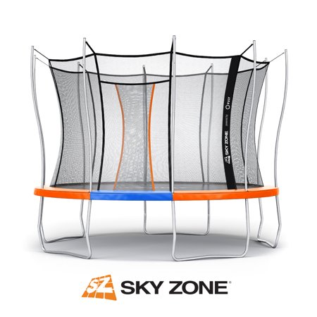 Save up to $380 off Official Sky Zone x Vuly Trampoline, Self-Closing Door