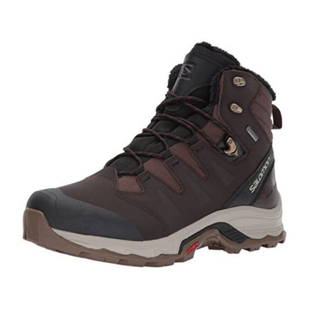 Salomon Mens Quest Winter Gtx Fabric Cap Toe Ankle Cold Weather Boots