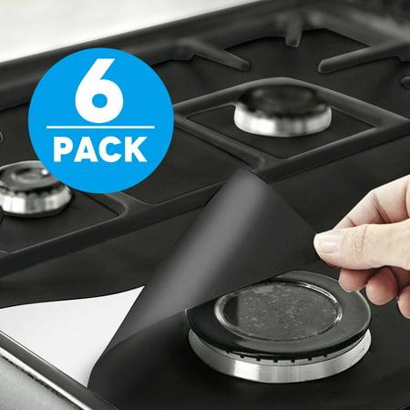 gas stove burner lit gas range protectors tsv liner covers reusable stove burner covers 106