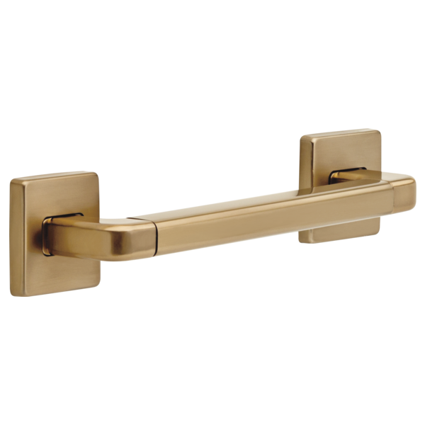 "Delta Bath Safety: 12"" Angular Modern Decorative ADA Grab Bar"