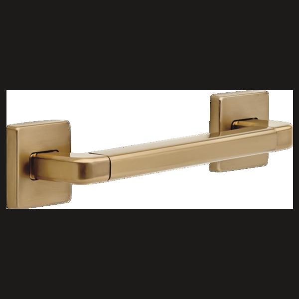 "Delta Bath Safety: 12"" Angular Modern Decorative ADA Grab Bar"
