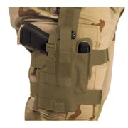 Elite Survival Systems Thigh Holster, Right Hand, Coyote Tan - For Glock & Simil