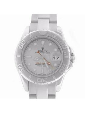 Pre-Owned Rolex Yacht-master 169622 Steel Women Watch (Certified Authentic & Warranty)