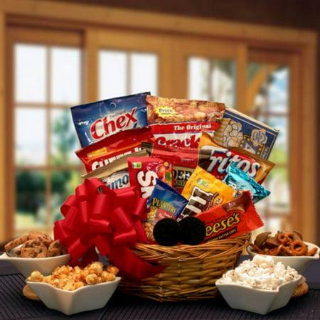 Snack Lovers Gift Basket