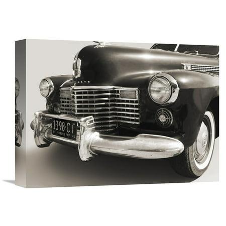 1941 Sedan - Global Gallery Gasoline Images '1941 Cadillac Fleetwood Touring Sedan' Canvas Wall Art