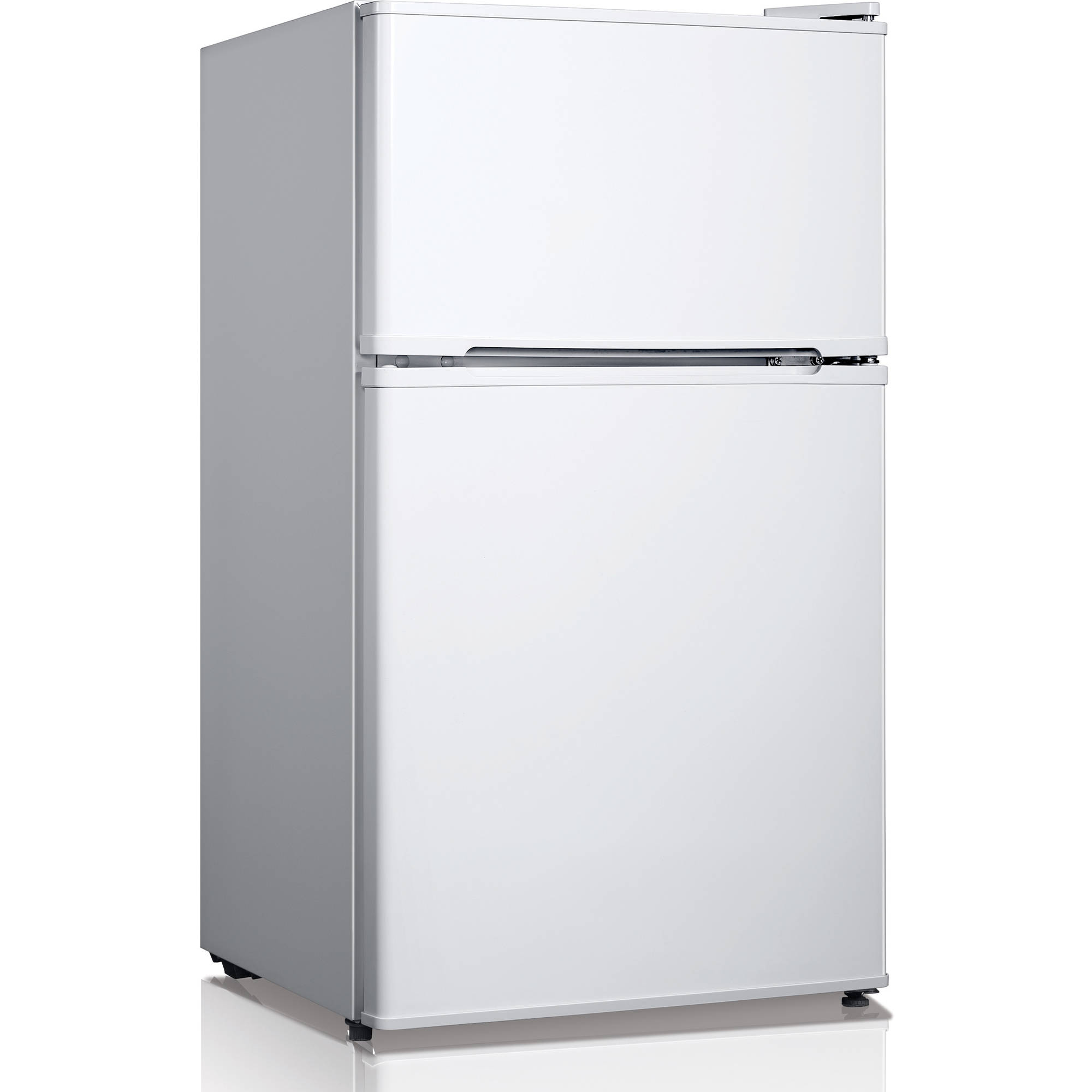Midea 3.4 cubic foot, Compact Refrigerator with Double Doors, Multiple Colors