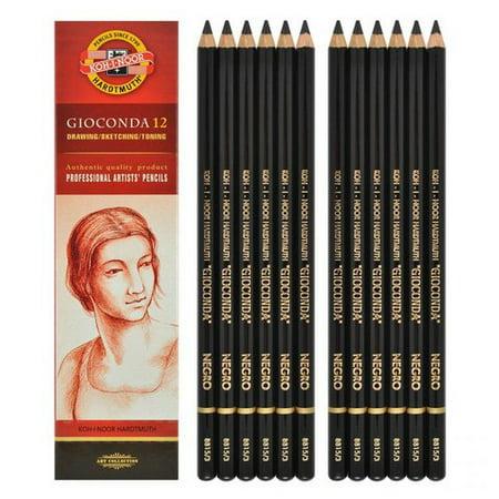 Chartpak Pencil - CHARTPAK, INC. FA8800N GIOCONDA CHALK PENCIL NEGRO