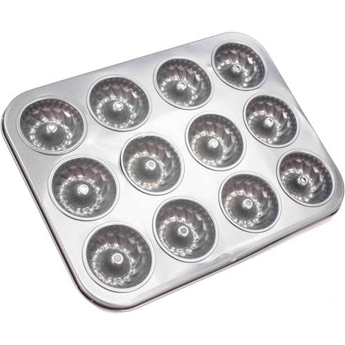 Home Basics 12-Piece Fluted Muffin Pan