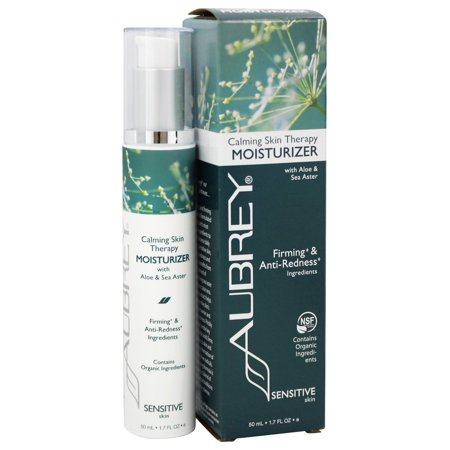 Aubrey Organics Skin Care - Aubrey Organics - Calming Skin Therapy Moisturizer with Aloe & Sea Aster - 1.7 oz. (Formerly Vegecol Moisturizing Cream)