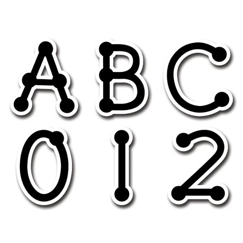Creative Teaching Press Dot-to-Dot Uppercase Letters