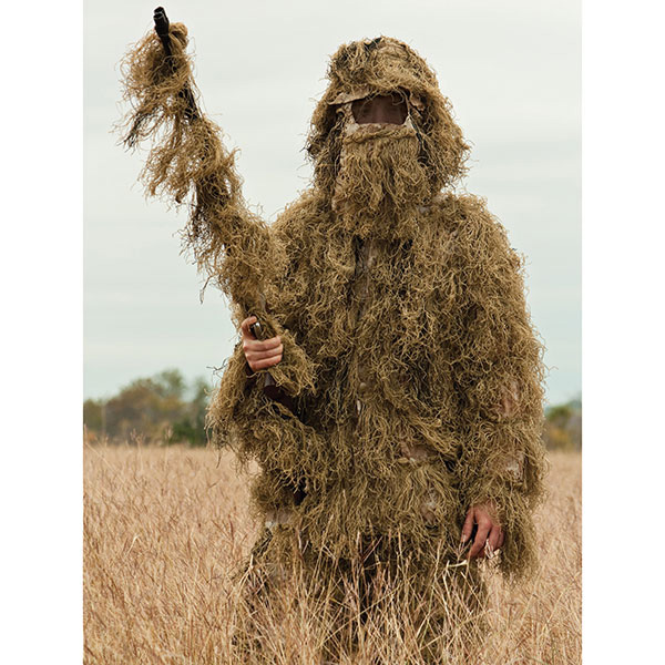 5-Piece Ghillie Suit Desert - X-Large/2X-Large